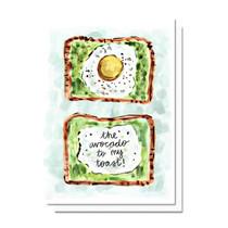 Evelyn Henson Avocado Toast Card