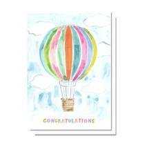 Evelyn Henson Congrats Balloon Card