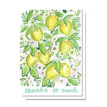 Evelyn Henson Thanks so Much Lemons Card