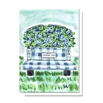 Evelyn Henson Thank You Hydrangea Car Card