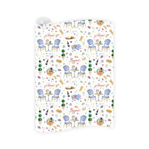 Dogwood Hill Wrapping Paper Roll, Parisian Picnic