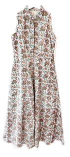 Livro Sleeveless Shirt Dress, Summer Lotus