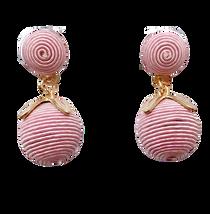 Grace Holiday Tulip Drop Earrings