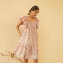 Kopal Myra Dress, Peach