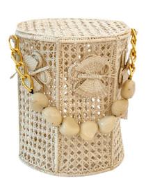 Victoria Dunn Butterfly Bucket Bag