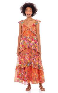 Banjanan Erin Dress, Dawn Chorus Puffins Bill