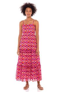 Banjanan Hazel Dress, Curlew Curve