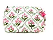 Livro Toiletry Bag Set, Pink Provencal