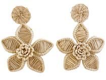 Victoria Dunn Hibiscus Flower Earrings