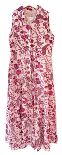 Livro Sleeveless Shirtdress, Pink Bouquet