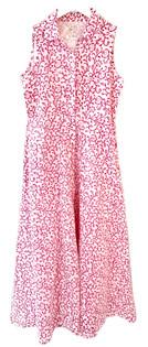 Livro Sleeveless Shirtdress, Hot Pink Chintz