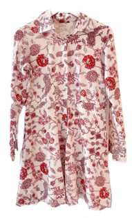 Livro Mini Shirtdress, Persimmon Bouquet