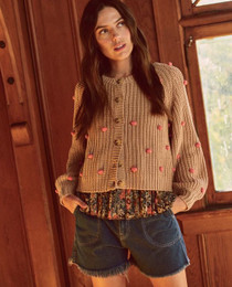 The Great Bobble Sophomore Cardigan, Sand