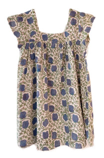 Grace Holiday Livvy Dress, Blue Tulips