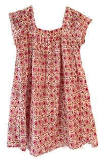 Grace Holiday Livvy Dress, Pink Floral Vine