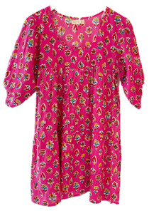 Grace Holiday Rosie Dress, Hot Pink