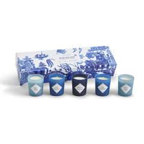 Blue Willow Candle Set