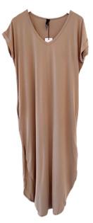 Bobi Tee Maxi Dress, Java