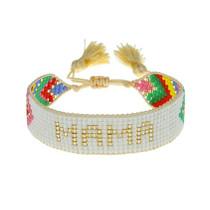 Hart MAMA Bracelet, Chevron Rainbow