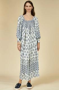 Hunter Bell Penelope Dress, Western Willow Blue