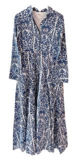 Livro Classic Shirtdress, Blue Garden