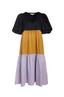 Crosby Brawley Dress. Color Block