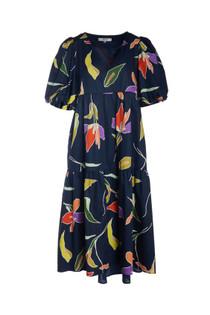 Crosby Brawley Dress, Blue Lily