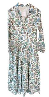 Livro Classic Shirtdress, Blue Daisy Vines