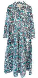 Livro Classic Shirtdress, Teal Garden