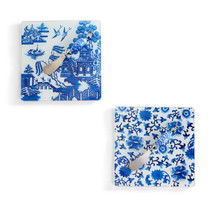 Chinoiserie Serving Board, Bird & House Set