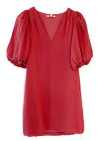 Anna Cate Haley Dress, Garnet Rose