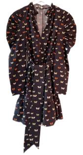 Anna Cate Elizabeth Dress, Butterfly Print