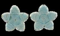 Grace Holiday Sea Star Earrings, Sage