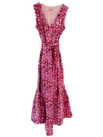 Ro's Garden Mariana Dress, Purple Petra