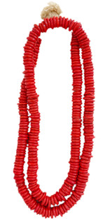 Trade Beads, Candy Apple Red