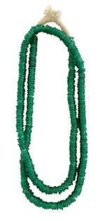 Trade Beads, Glossy Forest Green