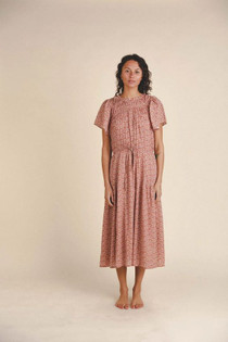 Trovata Nancy Dress, Rosewood Ditsy