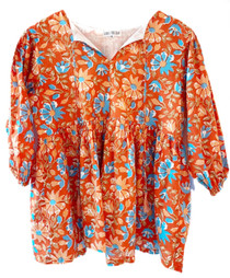 Grace Holiday Sully Top, Autumn Botanicals