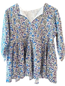 Grace Holiday Sully Top, Ditsy Blue Floral
