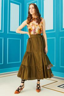 Marie Oliver Tanya Wrap Skirt