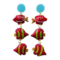 Holst & Lee Upstream Coral Earring