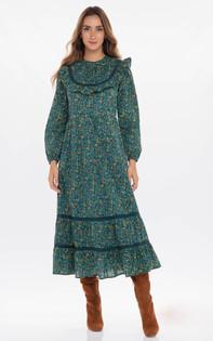 Banjanan Amara Dress, Hedgehog Dark Denim