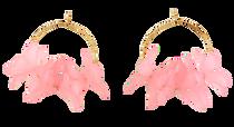 Holst & Lee Floral Hoop, Petal Pink