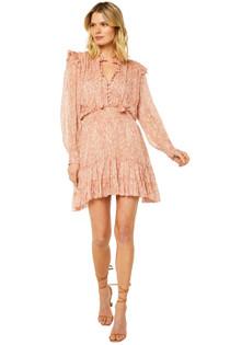Misa Solange Dress, Rose Python