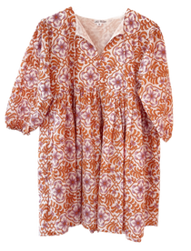 Grace Holiday Sully Dress, Frond Maple