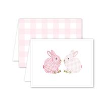 Dogwood Hill Porcelain Bunnies Boxed Set, Pink