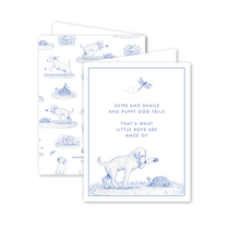 Dogwood Hill Snips and Snails Boxed Set, Blue