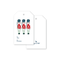 Dogwood Hill Toy Soldier Gift Tags