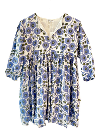 Grace Holiday Sully Dress, Pompom Denim