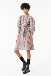 Antik Batik Fanny Mini Dress, Blue